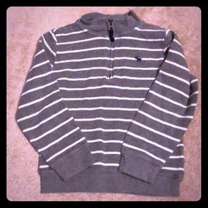 Carter's boys pull over 1/3 zip sweater